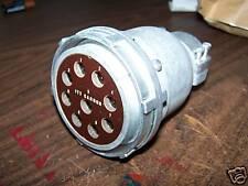 itt cannon plug akc921c1-1-4 large plug 9 pin military