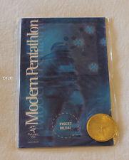 Modern Pentathlon Sydney 2000 Olympic Games Shell Commemorative Medallion New