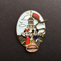 WDW - Disney's Yacht Club Logo - Mickey and Minnie Mouse Disney Pin 51391