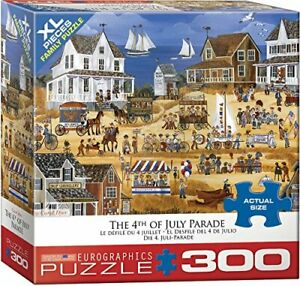 EuroGraphics (EURHR 4th of July Parade 300Piece Puzzle 300Piece Jigsaw Puzzle