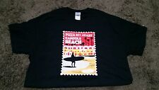 PIZZA MY HEART BEACH T-SHIRT Surfer CAPITOLA  XL  Postage Stamp