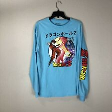 Dragon Ball Z Bird Studio Long Sleeve Shirt Vintage Large Goku