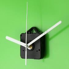 DIY Black Wall Quartz Clock Movement Mechanism White Hands Repair Tools Kit NEW