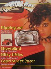 Custom Car magazine 02/1983 featuring Lotus Epsrit Turbo