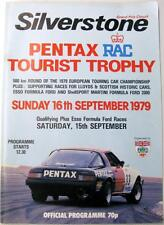 SILVERSTONE RAC Tourist Trophy 16th Sep 1979 Motor Racing Official Programme