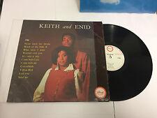 KEITH & ENID VINYL LP ISLAND NOT TROJAN ILP 901 VG-