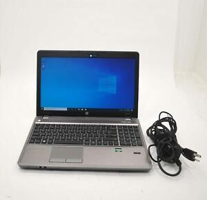 "HP ProBook 4545s 15.6"" AMD A6-4400M APU 2.7GHz 250GB HD 8GB RAM Windows 10 Pro"