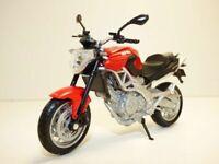 Motorbikes, Aprilia Shiver 750, Red,  New & Sealed 1/18