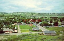MEDORA, NORTH DAKOTA, The Town the Marquis Built, the Church in the center