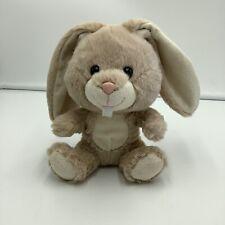 "Build A Bear Smallfrys Tan Beige Bunny Rabbit Plush Soft Toy Stuffed 7"" Animal"