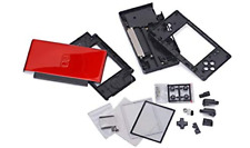 Crimson Red Black Full Repair Part Shell Case for Nintendo DS Lite NDSL USG-001