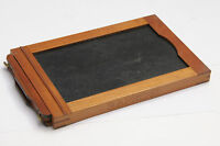 "3 1/4 x 5 1/2"" Glass Plate Wood Film Holder OD 111x171x14mm Kodak 3A Premo W126"