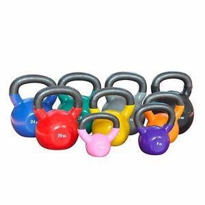 Blitz Fitness Vinyl Kettlebells 4kg - 40kg