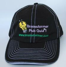 """Brainstormer Pub Quiz !"" ""www.brainstormer.com"" Adjustable Baseball Cap Hat"