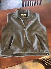 Men's Gray eBay Fleece Sleeveless Jacket (given to  employees) in size XL