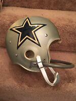 Vintage Riddell Kra-Lite TK2 Football Helmet-1973 Dallas Cowboys Don Meredith