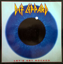 "DEF LEPPARD ~ Let's Get Rocked 7"" Vinyl Single 1992 UK DEF 7 * Mint Condition"