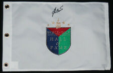 BEN CRENSHAW AUTOGRAPHED HALL OF FAME GOLF FLAG (W/ PROOF!)