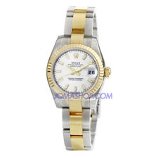 Rolex Lady Datejust 26 Silver Dial Stainless Steel and 18K Yellow Gold Oyster