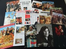Gerard Depardieu  15 full pages   Clippings