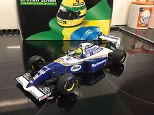 Ayrton Senna Williams Fw16 1994 Rothman factory original version 1:18 MINICHAMPs