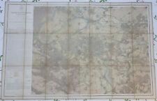 Carte Agronomique des environs de Paris ordre du Baron Haussmann (1858)