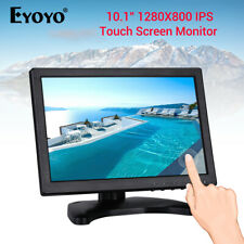"""EYOYO 10.1"""" Touch Screen Monitor Display With VGA USB HDMI Input for TV Security"""