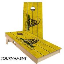 Slick Woody's Don't Tread On Me Cornhole Board Game Set - Quality USA Made!!