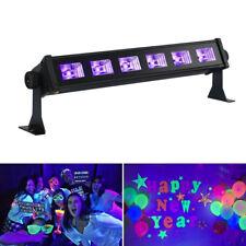 18W 6LED UV-Bar Schwarzlicht Wall Washer Leiste Bühnenlicht Deko Disco Party GL