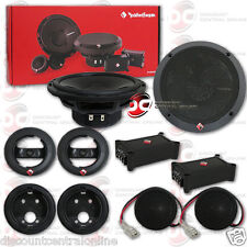 "ROCKFORD FOSGATE P165-SE 6.5"" 2-WAY CAR AUDIO COMPONENT SPEAKER SYSTEM (PAIR)"