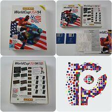 World Cup USA 94 un juego de Oro de Estados Unidos para la computadora Amiga probado y de trabajo