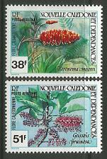 NEW CALEDONIA. 1980. Flowers Set. SG: 650/51. Mint Never Hinged.