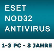 ESET NOD32 Antivirus 2018 - Lizenz 1-3 PC / 3 Jahre