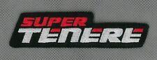 Yamaha Super Ténéré XT1200Z toppa ricamata termoadesivo iron-on patch Aufnäher