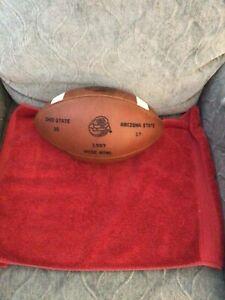 Vintage Rose Bowl football. Ohio State/ Arizona 1997