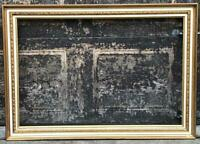 """Vintage 29.25""""x41.25"""" Painted Gold Wood Ornate Picture Frame for ~ 23""""x35"""""""