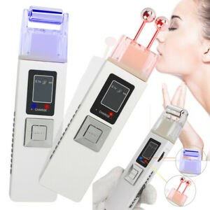 USA Galvanic Microcurrent Skin Firming Machine Anti-aging Massager Face Lift