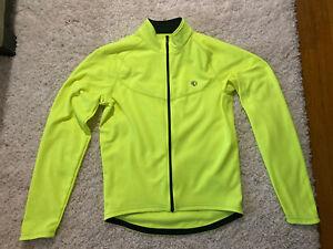 Pearl Izumi Select Thermal Base Cycling Jersey  Screaming Yellow Neon Medium M