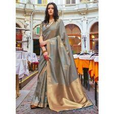 SILK sarees for Indian wedding bridal saree blouse women ethnic sari