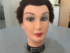 Burmax  DEBRA Mannequin  Short Hair WOMEN'S  Cosmetology Human Hair.