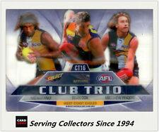 2012 Select AFL Champions Club Trio CT16 Priddis/Cox/Naitanui (West Coast)