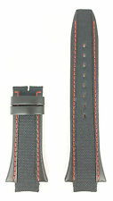 Breil Milano Eros Watch Band BW0307 Genuine Black Calf Leather Strap F260052698