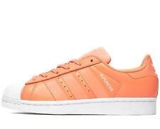Adidas Originals SuperStar Women ® ( Sizes UK: 5  &  5.5) Sunglow Orange / White
