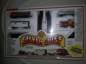 Bachmann 5 N Scale Strain Set Silver Chief 24310