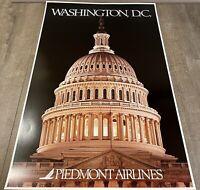 """Piedmont Airlines Washington, D.C. Poster 24"""" x 36"""""""
