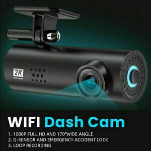 WiFi Car Dash Cam HD 1080P Hidden Car DVR Camera Recorder Night Vision G-Sensor