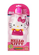 Zak! Hello Kitty 16oz Collapsible Kids Water Bottle with Clip Sanrio