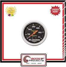 "AutoMeter 2-5/8"" Pro-Comp Analog Blower Pressure Gauge 0-60 PSI * 5402 *"
