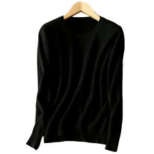 Womens Cashmere Loose Pullover Turtleneck Knit Sweater Cardigans Jumpers