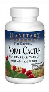 Planetary Herbals Nopal Cactus  Full Spectrum™ 1000 mg 120 Tablet
